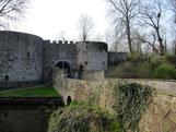 typische Niederungsburg: Burg Coppenbrügge