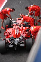 Formel 1 Ferrari Test in Spanien