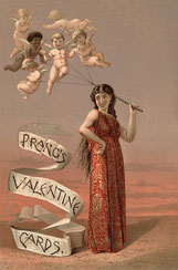 """Liebesbriefe  werden oft mit """"Dein Valentin"""" unterzeichnet"""