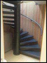 Escalier hélicoïdal, fabrication française sur mesure