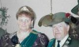 Königspaar 1990 Friedrich Ludwig und Ursula Costenaro