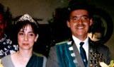 Königspaar 2000 Reinhold Briel und Claudia Engel