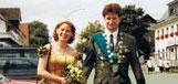 Königspaar 2001 Martin Thiel und Tanja Hofmann