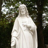 Statue - jardin  Maison Mère