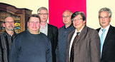 Vorstand OV-Kinzweiler m. OV-Vors. Bündgens (2 v. rechts)