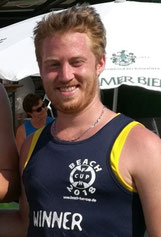 Kevin Ketterer beim Beach Cup
