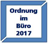 Ordnung im Büro 2017