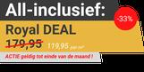 Levenslange garantie in de Royal Deal van tegeloutlet De Tegel Expert