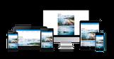 cloe-perrotin.com : un site responsive multi-plateformes adapté aux supports (ordinateurs, mobiles, tablettes) grâce à Jimdo