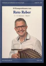 Notenheft Reto Reber - Schwyzerörgeli lernen - örgeli-studio Schwyz