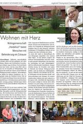 Wohngemeinschaft Heidehort Wohnheim mit Herz für Menschen mit Behinderung