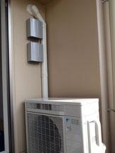 エアコン工事(室外機)|大阪の電気工事・エアコン工事・アンテナ工事「和泉電工」