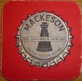 Mackeson beer coaster/mat