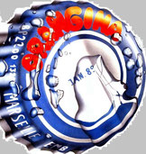 Orangina bottle cap Art