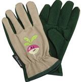 Weihnachtsgeschenke für Kinder, diese kleinen Handschuhe mit dem schmunzelnden Radieschen schützen kleine Hände zuverlässig