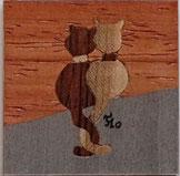 Magnet Chats carré - 5x5