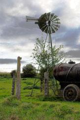 Pompe éolienne à Beaumont-Hamel