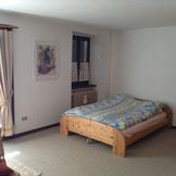 Schlafzimmer Landseite  Doppelbett 160x200