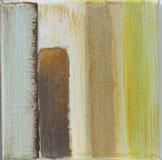 Nr. 2010-HO-013: 15x 15 cm, Acryl, Rosteffekt auf Leinwand
