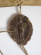 KlAM Urkunde Nr. b von 1225, Siegel