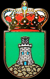 Pin from city of Vilnius (Lithuania).