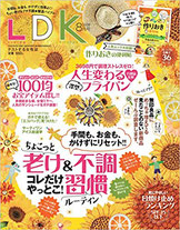 晋遊舎「LDK」8月号に「読書記録しおりワタシ文庫」が掲載されました。