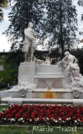 Jesi, Monumento a Giovan Battista Pergolesi