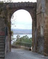 vecchia entrata principale del paese, oggi