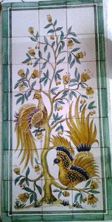 """Paradiesvögel"" Art.-Nr.: PN-116, Größe: 1,07x51cm"