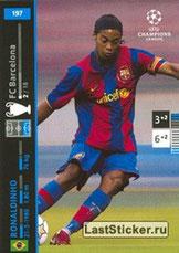 N° 197 - RONALDHINO (2001-03, PSG > 2007-08, Barcelone, ESP)