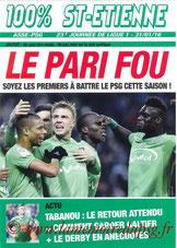 Revue  Saint Etienne-PSG  2015-16