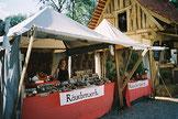Stand auf Mittelaltermarkt