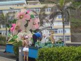 Karneval auf Teneriffa Umzugswagen
