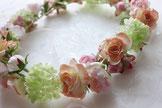 花かんむり(造花)