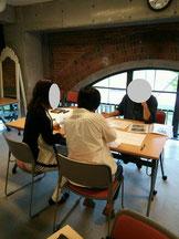 旭川整理収納アドバイザー2級認定講座の 講座中の風景