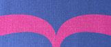 紺 × ピンク