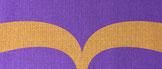 紫 × マスタード