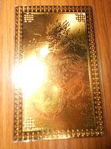 龍の財神カード