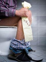 Assainissement non collectif toilette bouchée