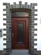 Türe in Kirspe Vorher