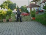 Einfahrt in den Schlossgarten