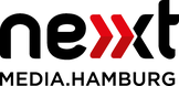 Logo nextMedia.Hamburg