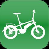 Winora Kompakt e-Bike in der e-motion e-Bike Welt in Frankfurt