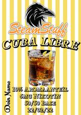 Cuba Libre Aroma zum vapen, Cuba Libre aroma zum Dampfen, Cubalibre liquid, Cuba Libre dampfen