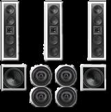 Встраиваемая акустика для домашнего кинотеатра класса ОПТИМУМ