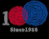 理容米倉 100周年 記念ロゴマーク