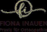 Logo Fiona Inauen Praxis für Osteopathie Zürich