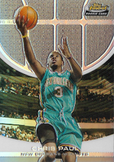 CHRIS PAUL / Rookie card Refractor - No. 106  (#d 120/249)