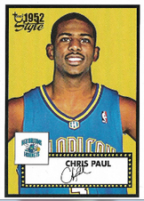 CHRIS PAUL / Rookie card - No. 154