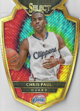 CHRIS PAUL / Prizm DieCut - No. 149  (#d 19/25)